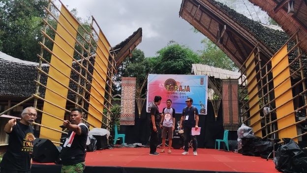 Persiapan event Toraja International Festival (TIF) 2019. (foto:djournalist).